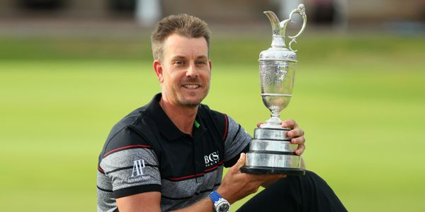 Henrik Stenson ganó The Open