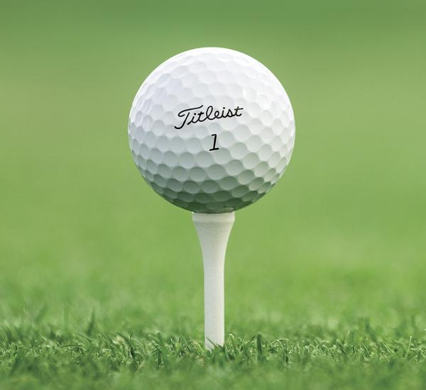Golf ball fitting titleist