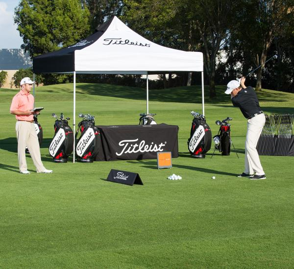 Golf club fitting titleist