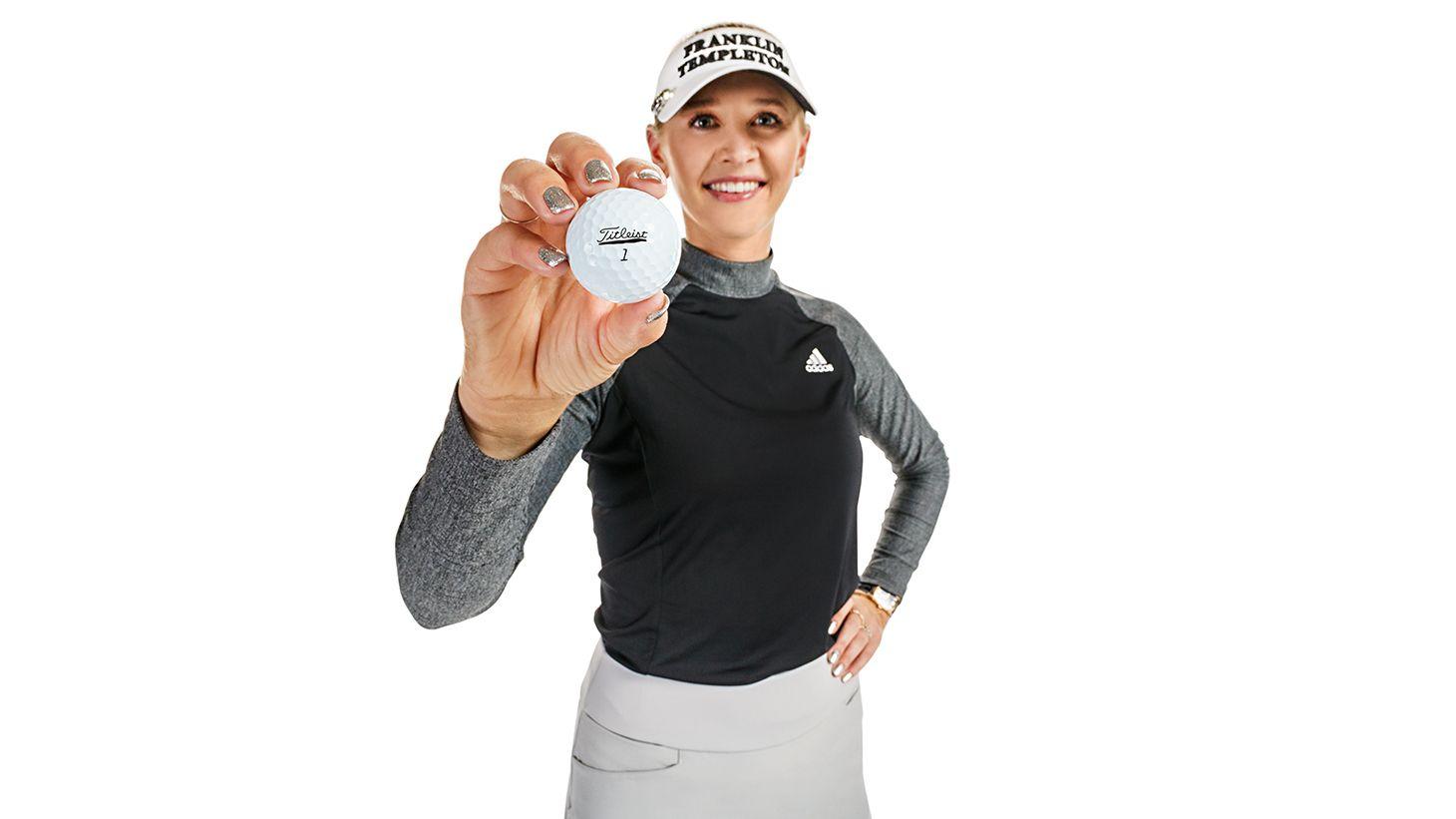 How LPGA Pro Jessica Korda marks her Pro V1
