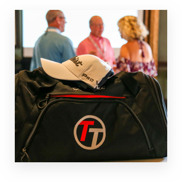 Team Titleist duffel bag