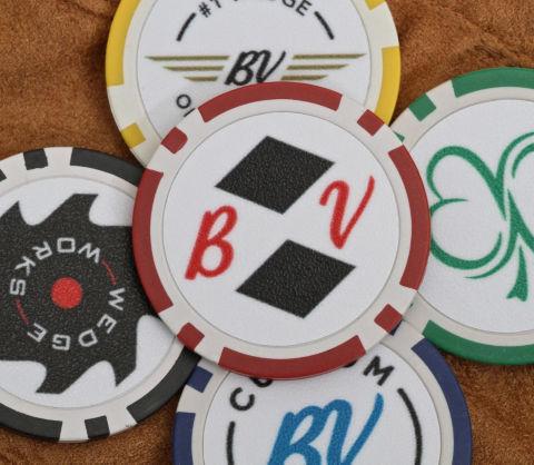 Titleist poker chips