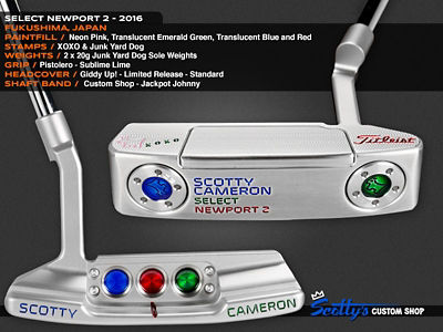 Custom Shop Putter of the Day: January 11, 2017