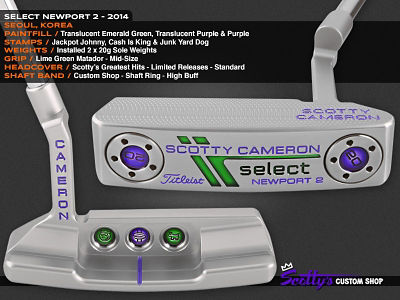 Custom Shop Putter of the Day: January 13, 2016