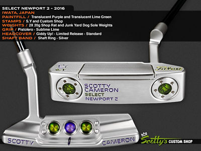 Custom Shop Putter of the Day: January 13, 2017
