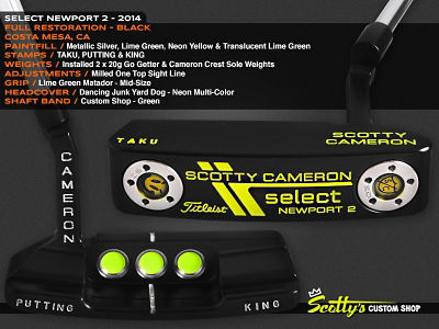 Custom Shop Putter of the Day: January 20, 2016