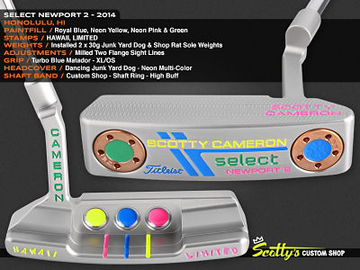Custom Shop Putter of the Day: January 22, 2016