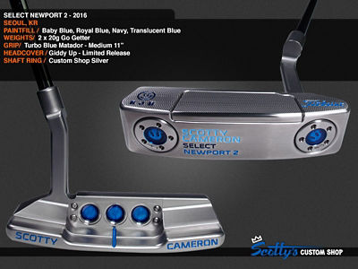 Custom Shop Putter of the Day: January 24, 2017