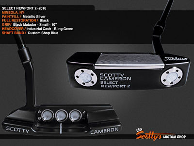 Custom Shop Putter of the Day: January 30, 2017