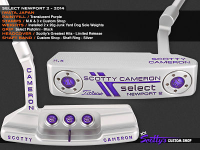 Custom Shop Putter of the Day: February 1, 2016
