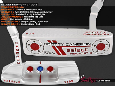 Custom Shop Putter of the Day: February 10, 2016