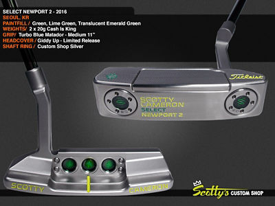 Custom Shop Putter of the Day: February 6, 2017