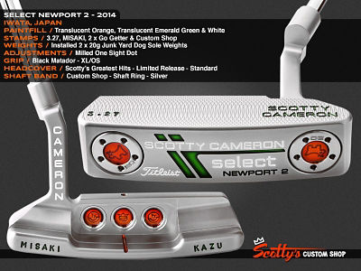 Custom Shop Putter of the Day: March 17, 2016