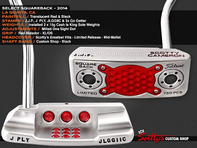 Custom Shop Putter of the Day: March 18, 2016
