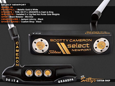 Custom Shop Putter of the Day: March 29, 2016