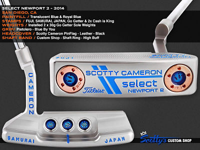 Custom Shop Putter of the Day: March 30, 2016