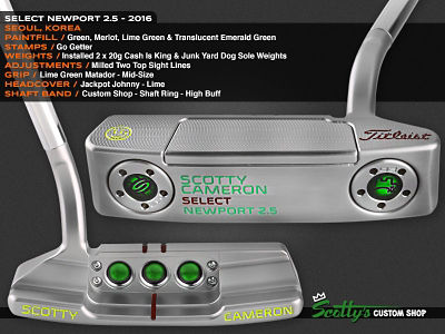 Custom Shop Putter of the Day: May 2, 2016