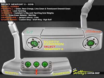 Custom Shop Putter of the Day: May 9, 2016