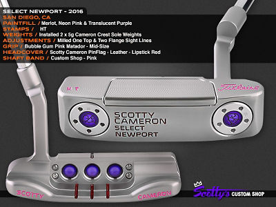 Custom Shop Putter of the Day: May 31, 2016