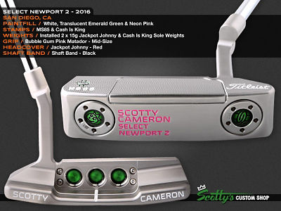 Custom Shop Putter of the Day: June 2, 2016