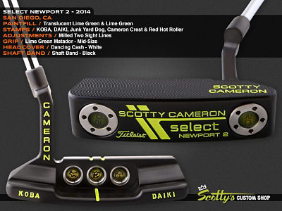 Custom Shop Putter of the Day: June 8, 2016