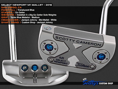 Custom Shop Putter of the Day: June 28, 2016