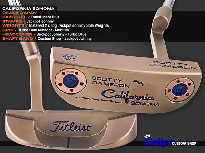 Custom Shop Putter of the Day: July 12, 2016