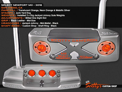 Custom Shop Putter of the Day: July 19, 2016