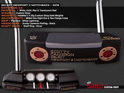 Custom Shop Putter of the Day: July 20, 2016