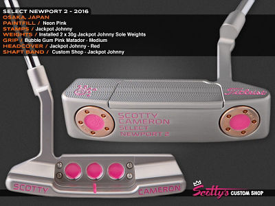 Custom Shop Putter of the Day: July 26, 2016
