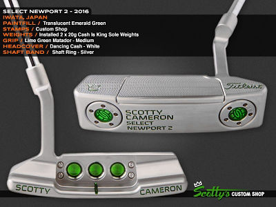 Custom Shop Putter of the Day: July 28, 2016