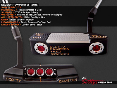 Custom Shop Putter of the Day: August 9, 2016