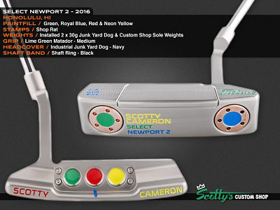 Custom Shop Putter of the Day: August 15, 2016