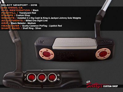 Custom Shop Putter of the Day: August 16, 2016