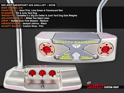Custom Shop Putter of the Day: August 24, 2016