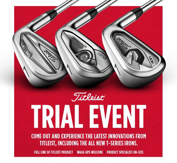 Titleist Trial Event