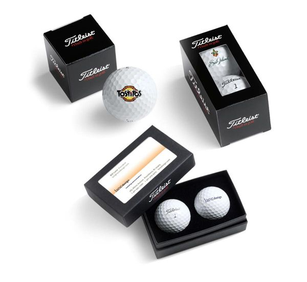Standard Titleist packaging