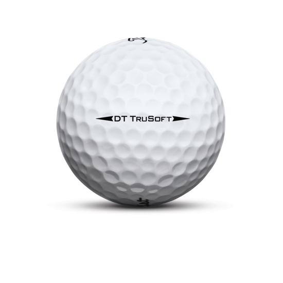 Titleist DT TruSoft Golf Ball White Sidestamp