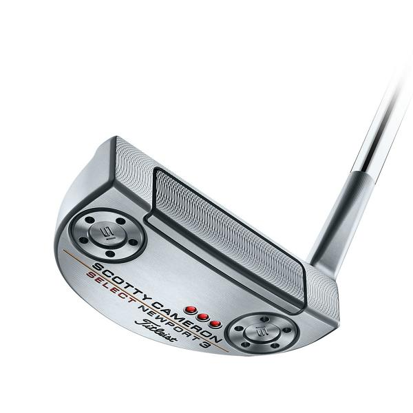 Putter head of Scotty Cameron Select Newport 3
