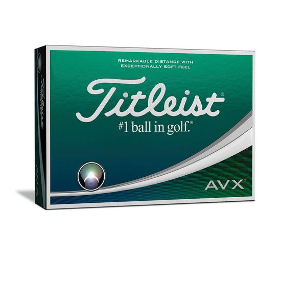 Titleist AVX golf balls White Dozen