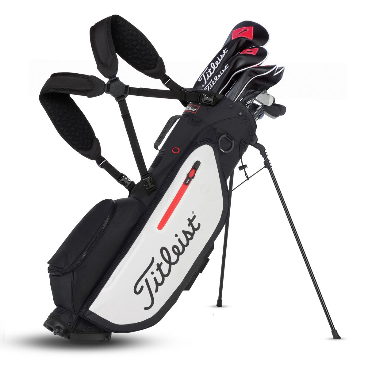 Players 4 Stand Bag Leist