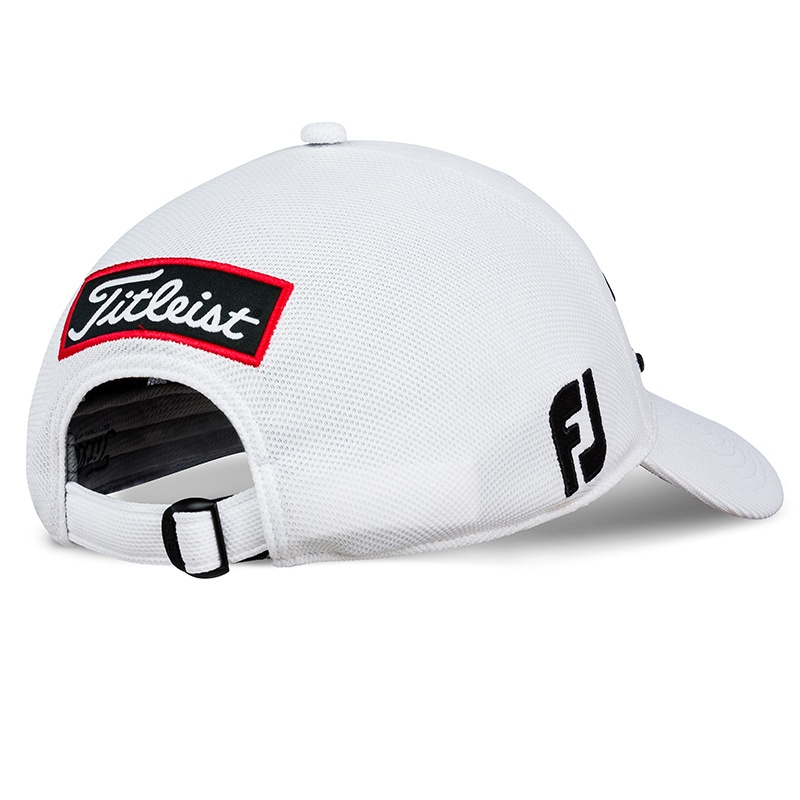 Tour Ace Black | White - Back