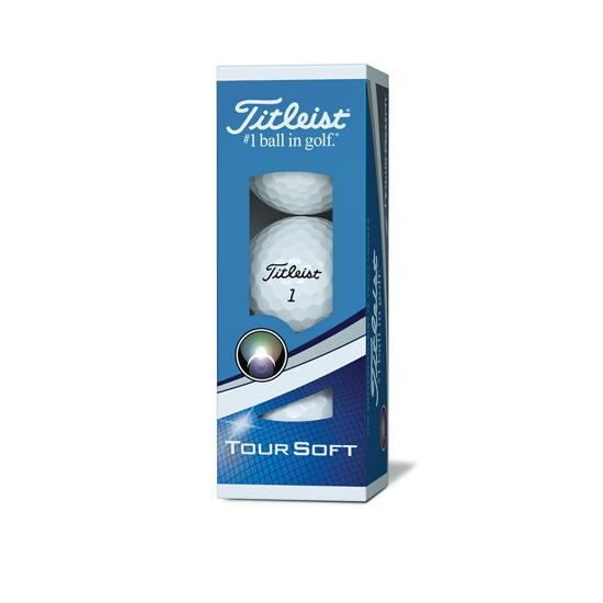 Tour soft Sleeve golf balls