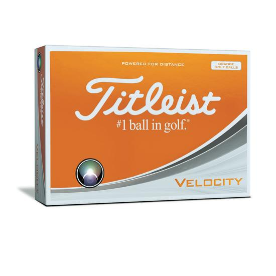 Velocity Golf Balls Orange Dozen
