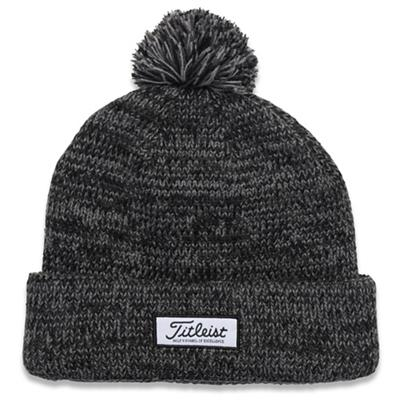 Pom Pom Winter Hat Heathered