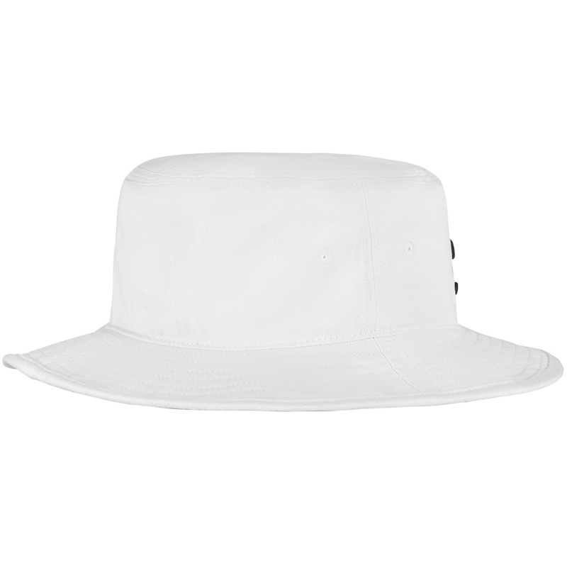 Cotton Bucket: Vit | Svart