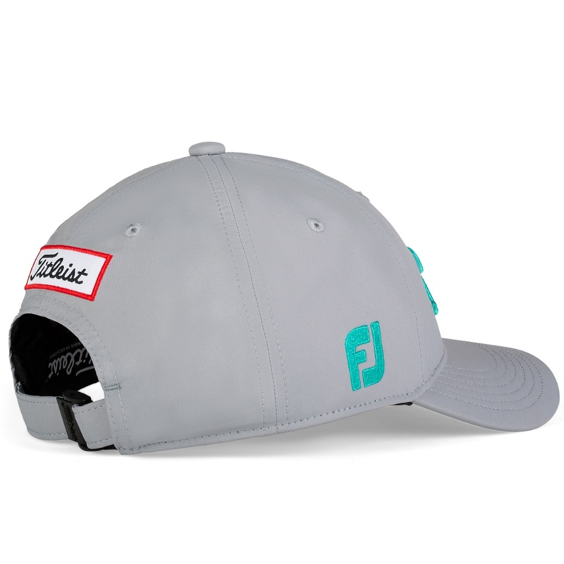 Grey | Teal - Back