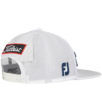 Tour Flat Bill Mesh Wearer's Back Left