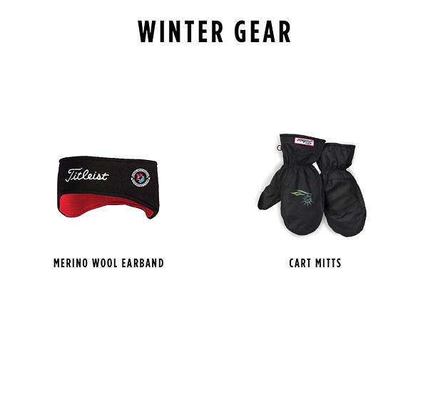 Custom Winter Gear Options
