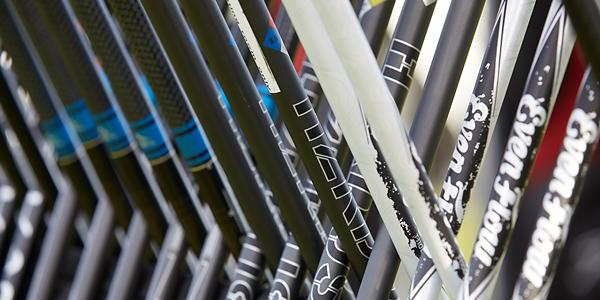Variety of Golf Club Shafts
